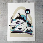 Voir Print Graffiti par GREY – White Out
