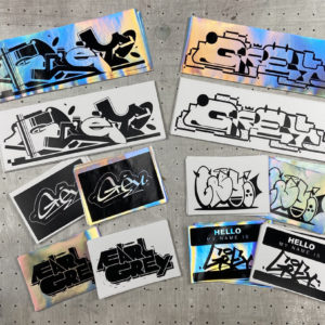 Pack Stickers Graffiti par GREY