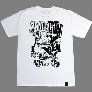 Tshirt Graffiti par RED – We run the city